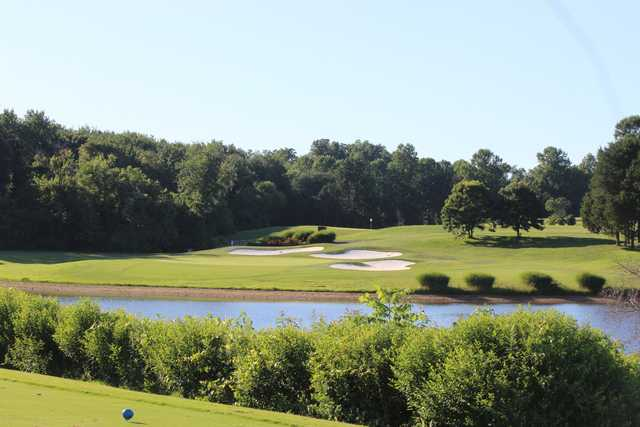 A view from the Lakes Course at Twin Lakes.