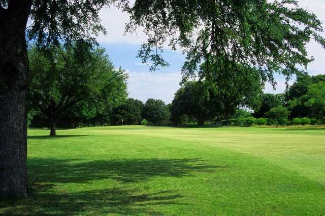 A view of hole #8 at Meadowbrook Park Golf Course.