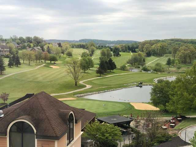 A view from Heritage Hills Golf Resort.