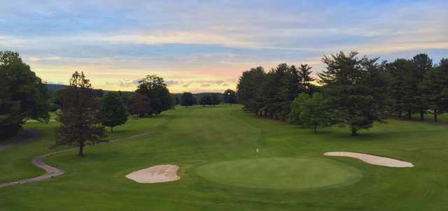 A sunset view from The Lynx at River Bend Golf Club.
