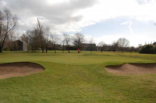 View of the 2nd fairway at Ormeau Golf Club.