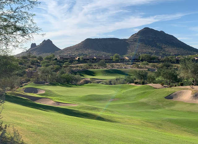 A view of hole #4 and #6 at Eagle Mountain Golf Club.