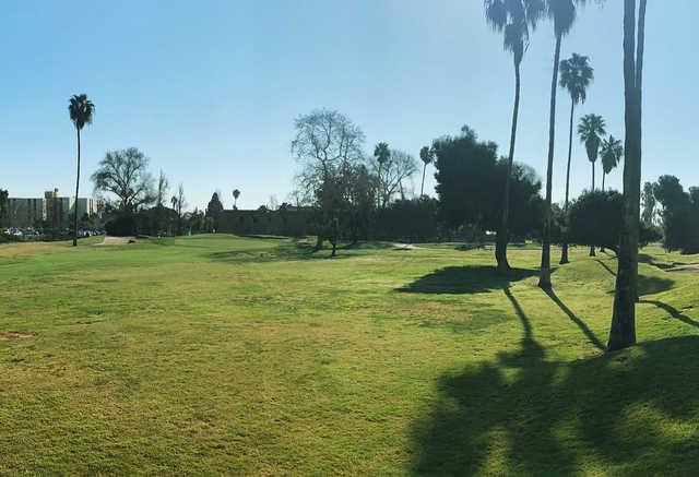 A view of a hole at Sea 'n' Air Golf Course.