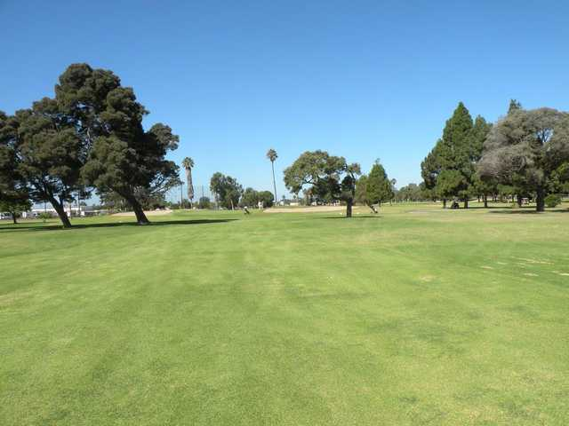 A view from the 7th fairway at NBVC Seabee Golf Course.