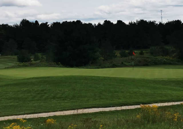 A view of a hole at Northern Dunes Golf Club.