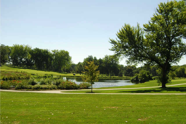 A view from Brookridge Golf & Fitness.