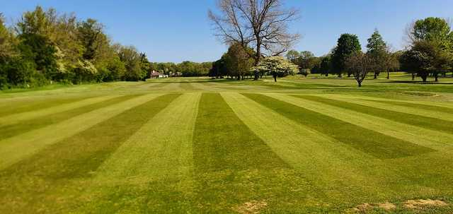 A view of the 1st fairway a at St Augustines Golf Club.