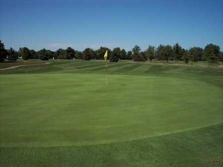 A view of the 9th hole at Arrowhead Golf Course