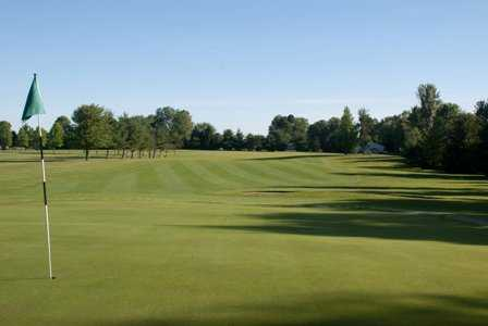 A view of the 7th hole at Arrowhead Golf Course