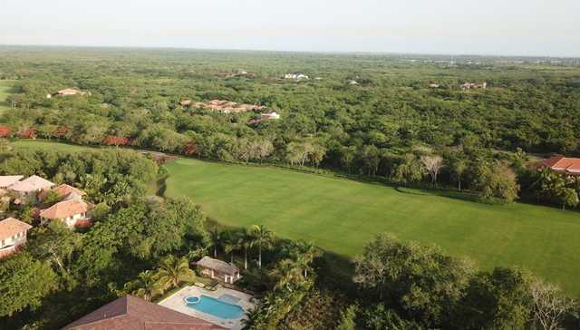 Aerial view from Guavaberry Golf & Country Club.