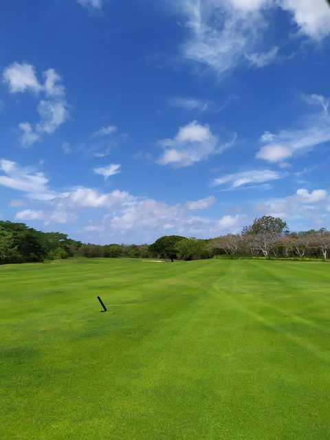 View from a fairway at Guavaberry Golf & Country Club.
