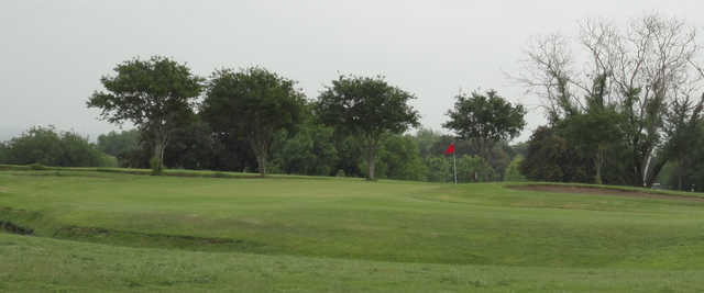 A view of a hole at River Hills Country Club.