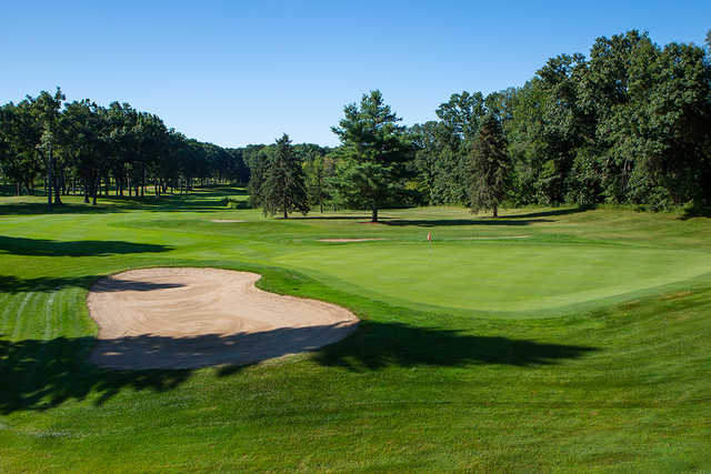 A view of hole #13 from Bedford Valley Course at Gull Lake View Golf Club and Resort.