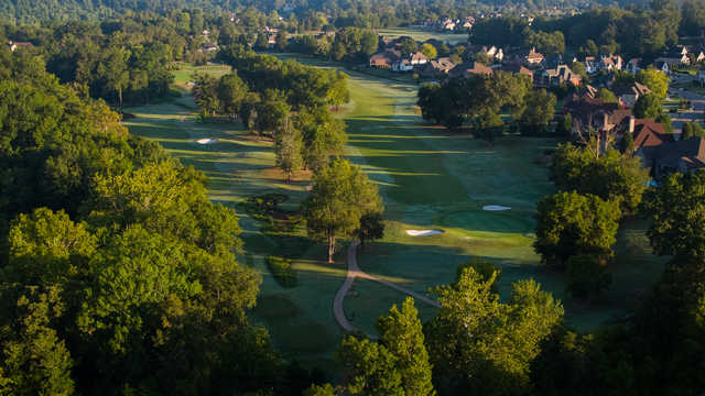 View of the 3rd hole from Ooltewah Club.