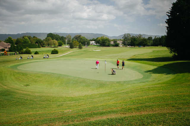 View of the 4th hole from Ooltewah Club.