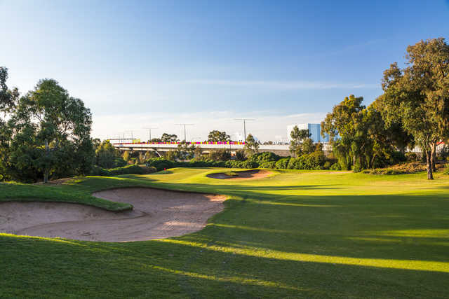 A view from Regency Park Golf Club.