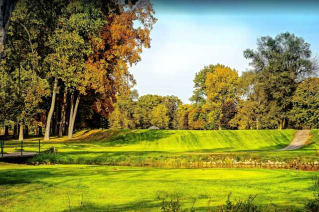 A view from a tee at Christiana Creek Country Club.