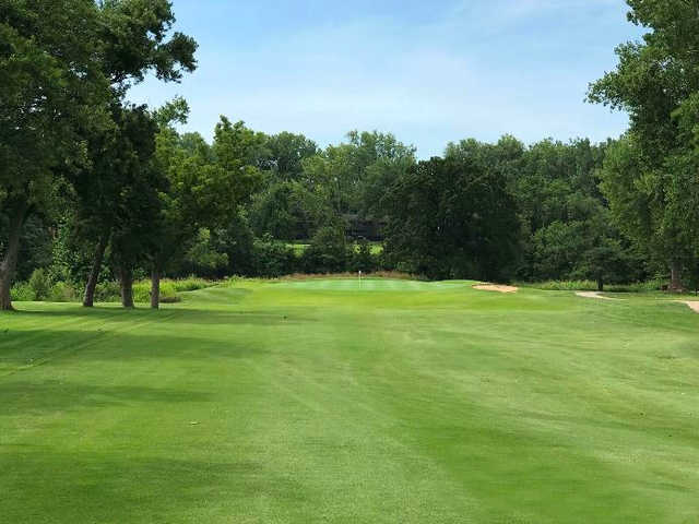 A view of the 11th hole at Championship Course from Brookridge Golf & Fitness.
