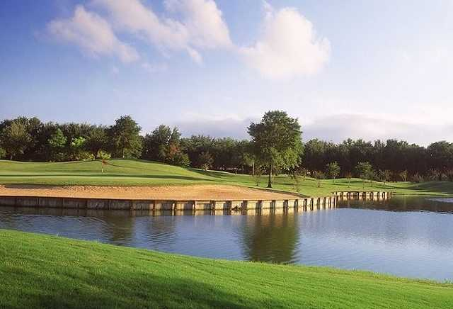 A view from Golf Club at Cinco Ranch.