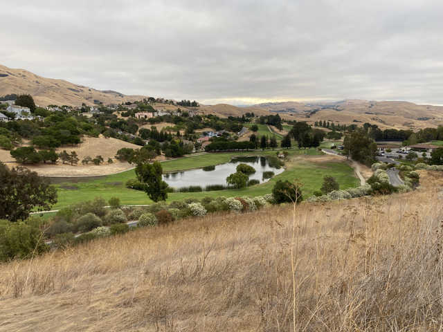 View of the 10th and 18th fairways at Bay View Golf Club.
