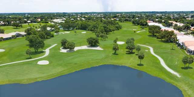 Aerial view from Seminole Lakes Country Club.