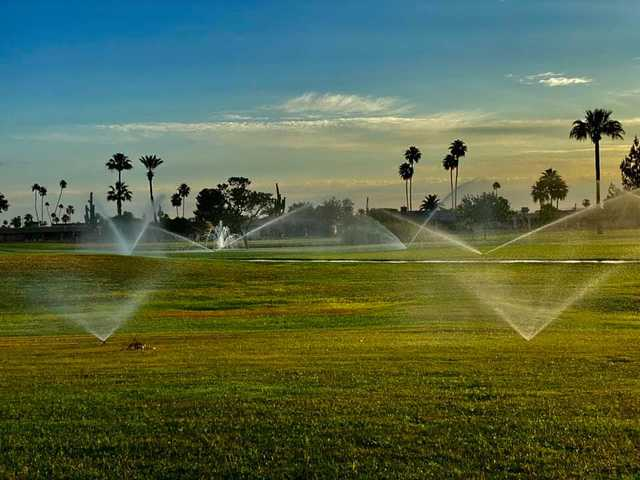A view from West Course at Sun City Lakes Golf Club (Jim Hambrick).