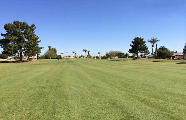 A view from a fairway at Sun City South Golf Course (Jay Otlewski).