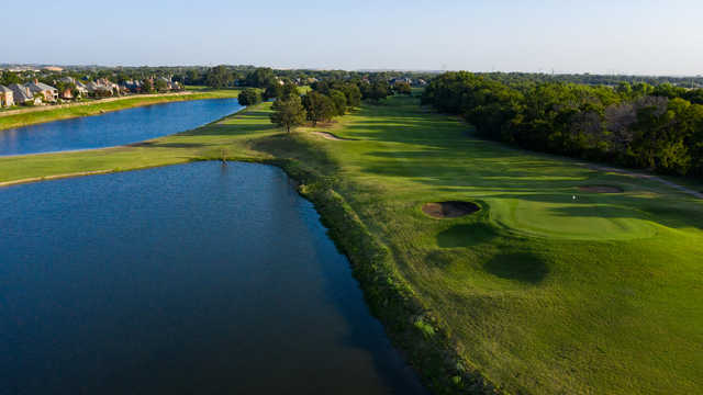 Aerial view from Riverchase Golf Club.