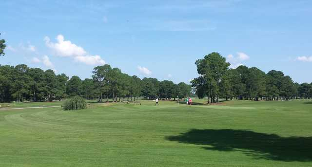 A view from Azalea Sands Golf Course.