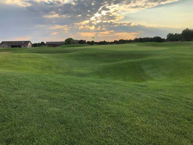 View from a fairway at Silver Creek Golf Club.