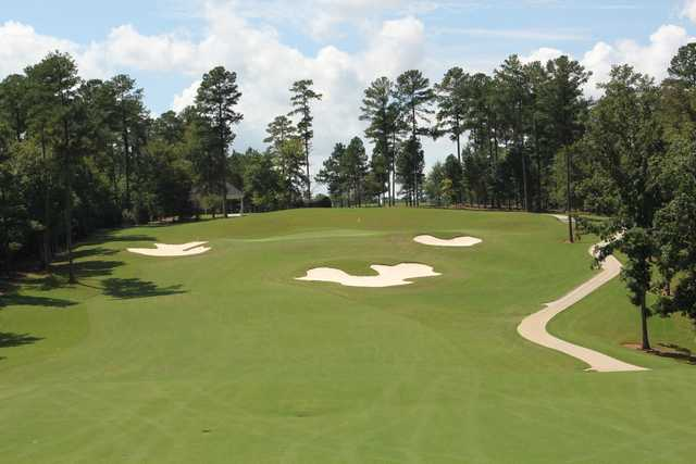 A view of the 3rd green at Independent Course from Mount Vintage Golf Club.