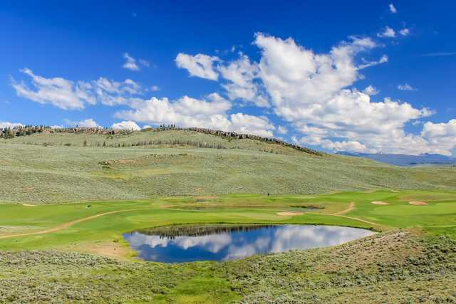 A sunny day view from Golf Granby Ranch.