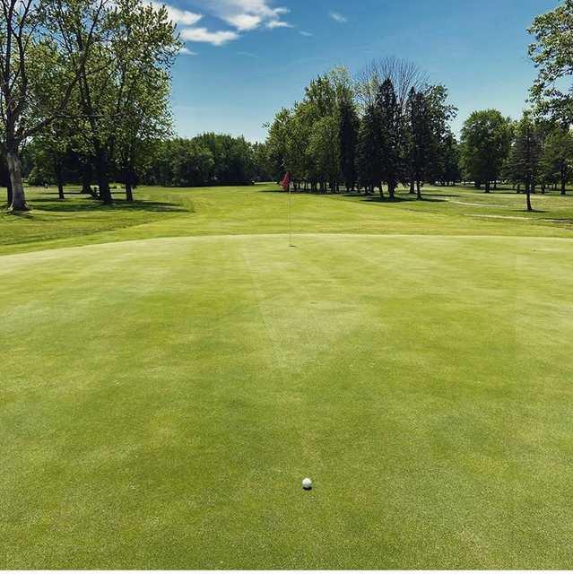 View from a tee box at Arrowhead Golf Club.