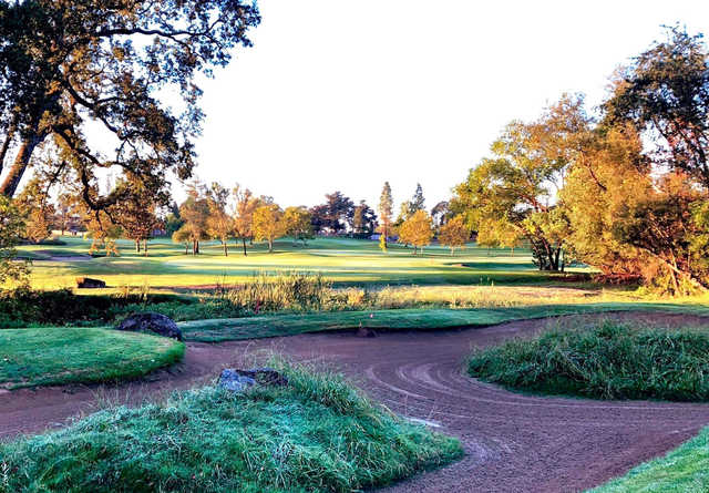 A fall day view from Windsor Golf Club.