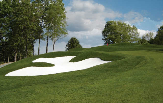 A view of the 8th hole at Mt Anthony Golf & Tennis Club.