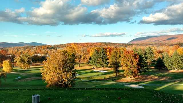A view from the 13th tee at Mt Anthony Golf & Tennis Club.
