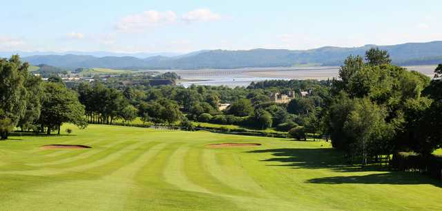 A view from a fairway at Ulverston Golf Club.