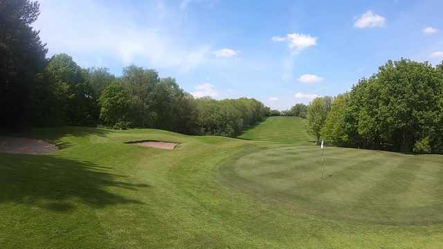 A view of a hole at Sherdley Park Golf Course.