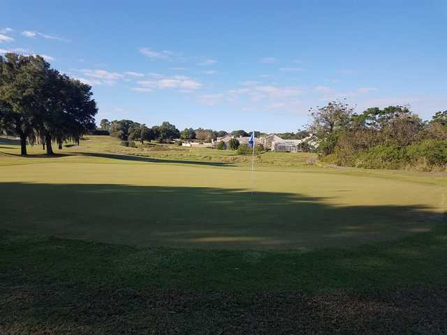 View from a green at MetroWest Golf Club.