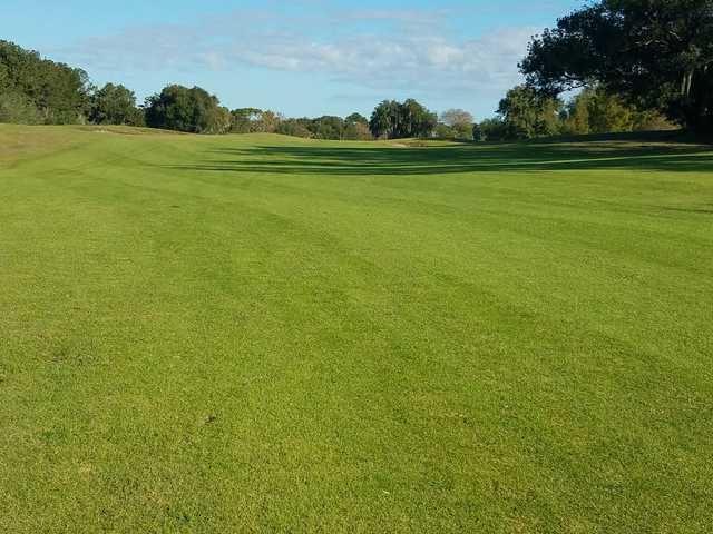 View from a fairway at MetroWest Golf Club.
