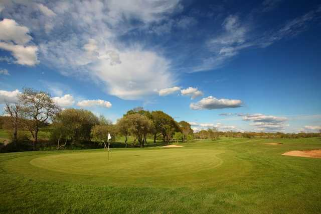 A view of the 3rd hole at Mid Sussex Golf Club.