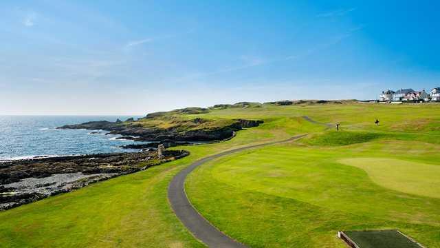 A view from Ardglass Golf Club.