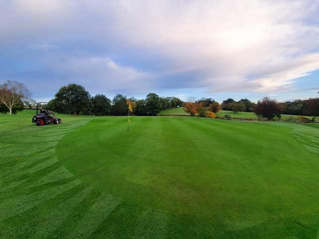 A view of a green at Banbridge Golf Club.