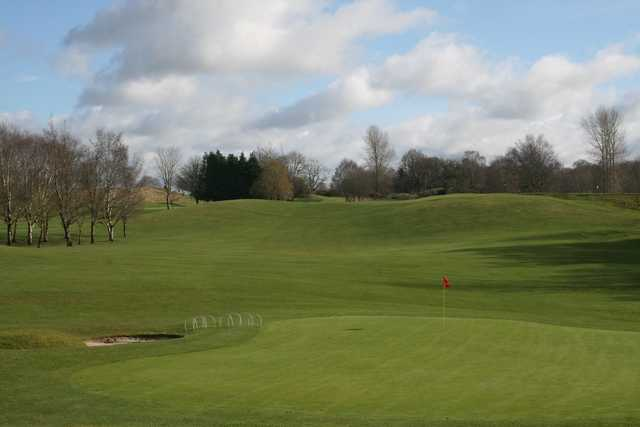 A view of a green at Birr Golf Club.
