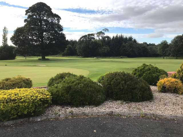 A view from Castlerea Golf Club.