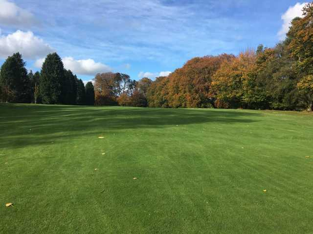 A fall day view from Roscrea Golf Club.