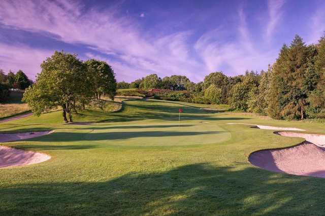 A splendid view of a green at Slieve Russell Hotel Golf and Country Club.