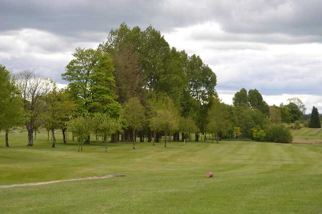 A view from a tee at Roscommon Golf Club.