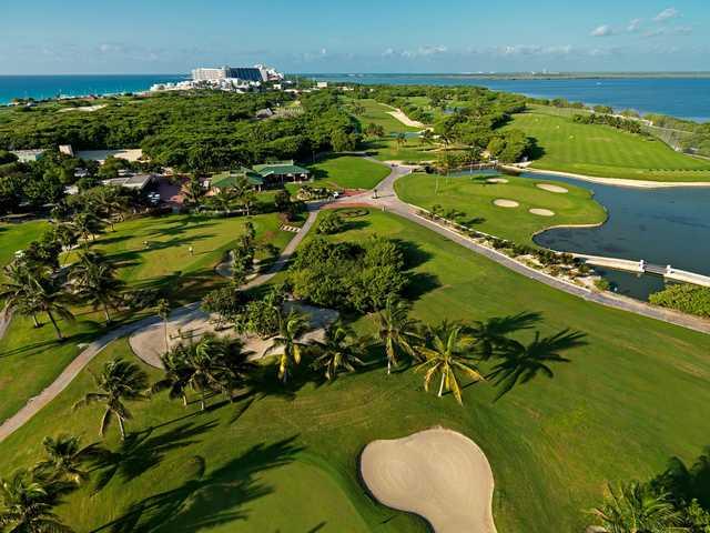 A view from Iberostar Cancun Golf Club.