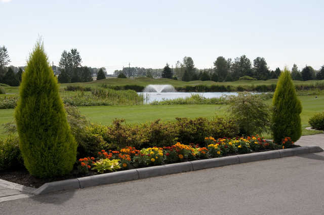 A view from Riverway Golf Course.